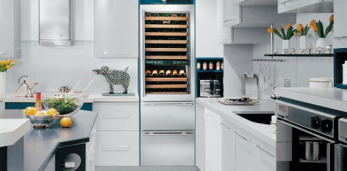 The Sub Zero Wine Refrigerator photo