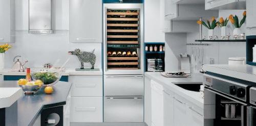 The Sub Zero Wine Refrigerator photo