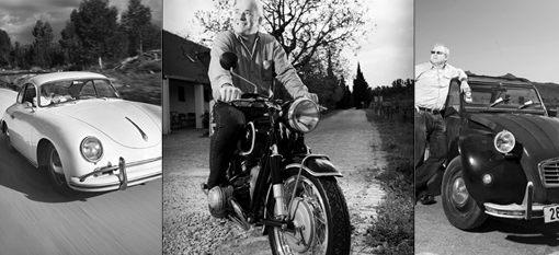 Winemakers and their cars photo