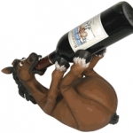 Drunken Horse Wine Holder photo