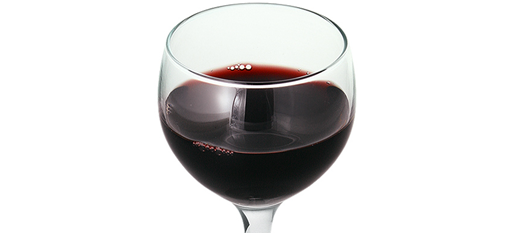 Red wine glasses capture aromas photo