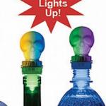 Lighted Skull Bottle Toppers photo