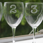 Numbered Wine Glasses photo