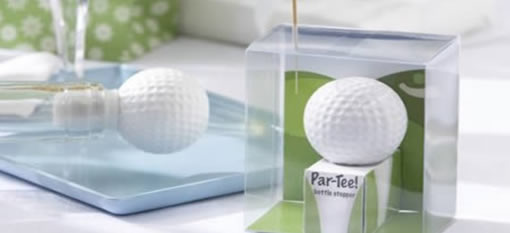 Par-Tee Golf Ball Bottle Stopper photo