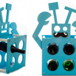 Robot Wine Rack photo