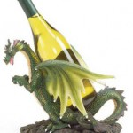 Green Dragon Bottle Holder photo