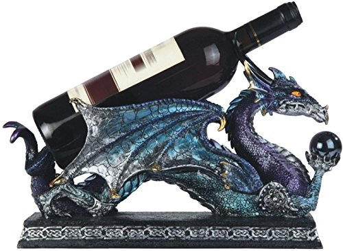 dragon2 Dragon Bottle Holders Fit For A Wine Quaffing Dragon Queen