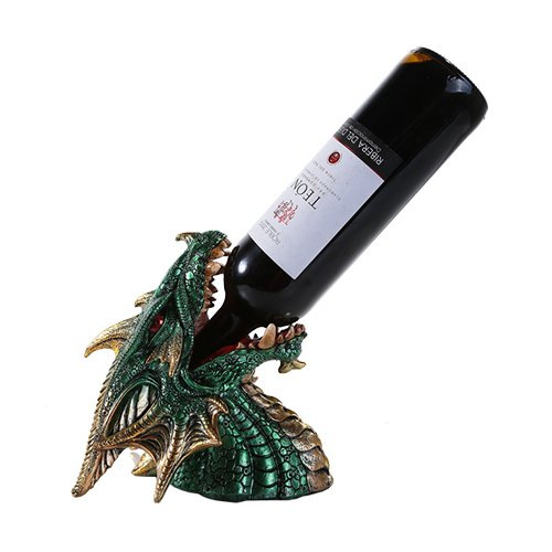 dragonhead Dragon Bottle Holders Fit For A Wine Quaffing Dragon Queen