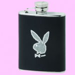 Playboy Leather Hip Flask photo