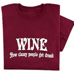 Wine lover T-shirt photo