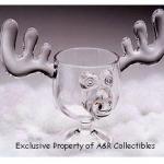 Metal Moose Wine Caddy photo