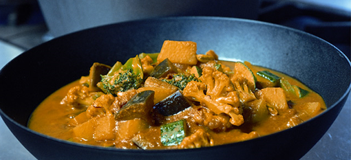 Gordon Ramsay Vegetable Curry In Just 4 Steps photo