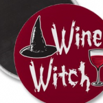 Wine Witch Magnet photo
