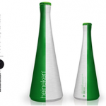 Cool beer bottle concept photo