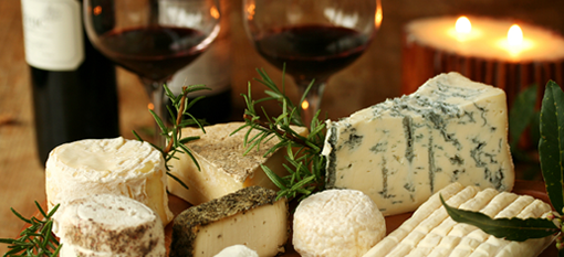 Wine, cheese, and praise for the Goatfather photo