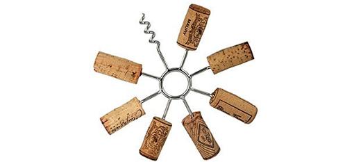 Circular Wine Cork Trivet photo