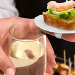 Finger food party plates photo