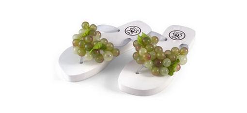 Grape Flip-Flops photo