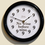 Wino Clock photo