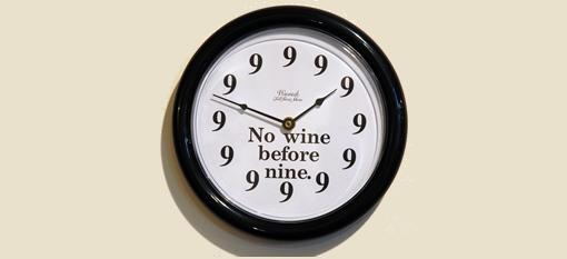 Wino Clock photo