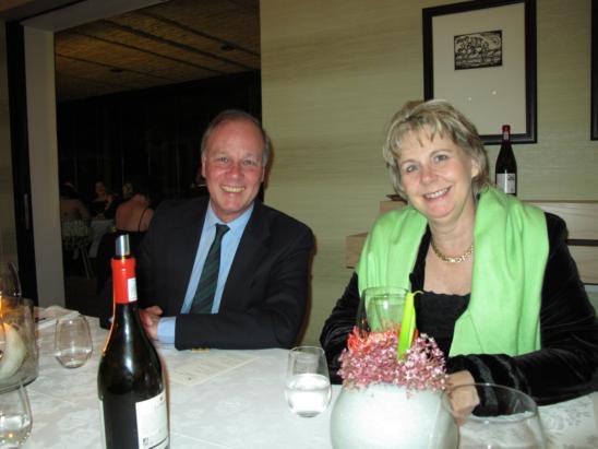 Vaughan Johnson and Hanneli Rupert-Koegelenberg last year