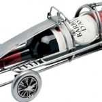 The Race Car Wine Bottle Holder photo