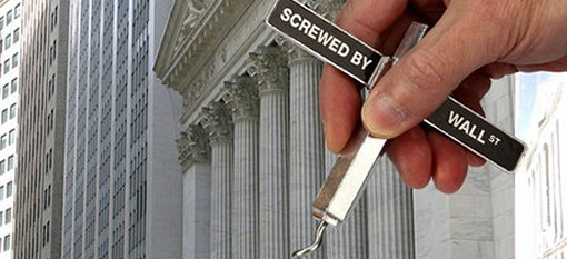 Screwed by Wall Street Corkscrew photo