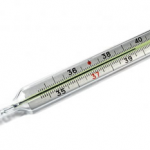 Thermometers used to be filled with brandy photo
