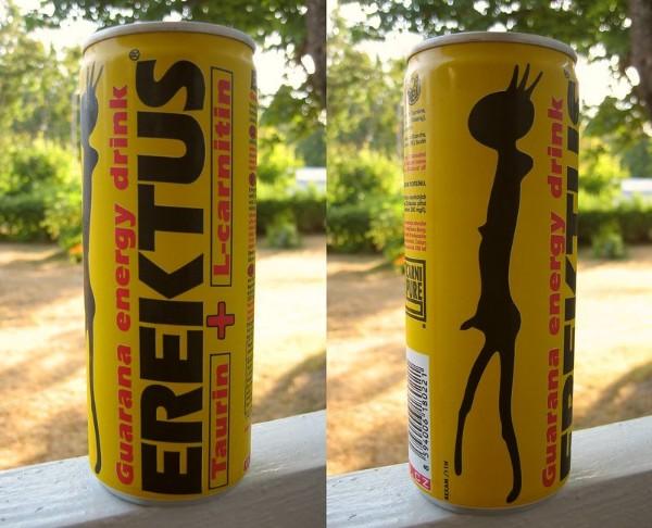 Erektus Nine Very Strange Beverage Names