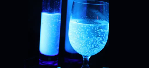 Make you drinks glow this Halloween photo