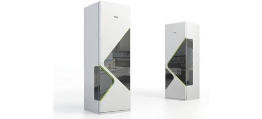 Narrow Refrigerator photo