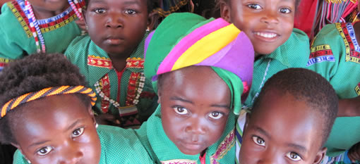 Children of Harvesters for Amarula learning for life photo