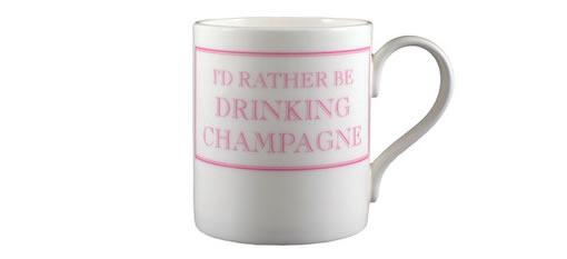 I'd Rather Be Drinking Champagne Mug photo