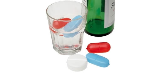 Chill Pills Ice Cubes photo