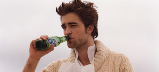 Robert Pattinson Would Rather Get Drunk Than Work Out photo