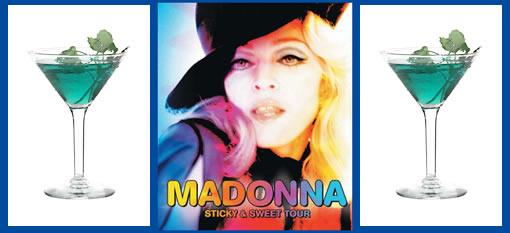 Madonna's Blue Cocktail photo