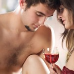 Women, wine and sex photo