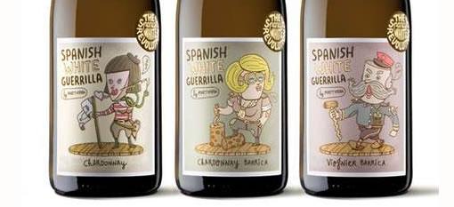 Cartoon Wine Branding photo