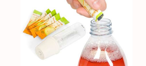 Powder that turns your juice into booze photo
