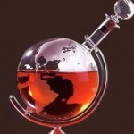 Etched Globe Spirits Decanter photo