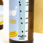 Musical Beer Bottle Design photo