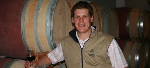 Meet Wynand Grobler, the winemaker at Rickety Bridge photo