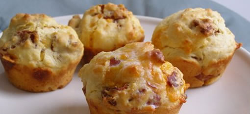 Unbelievable Bacon and Cheese Muffins photo