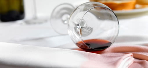 How to remove that nasty red wine stain photo