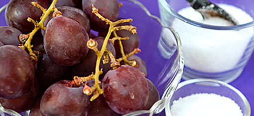 The technical term for sugar in grapes photo