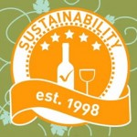 South African wine sustainability seal photo