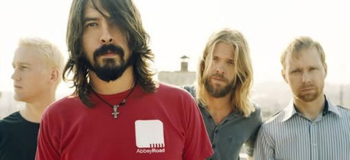 Have a drink or two with The Foo Fighters photo
