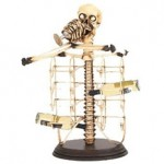 The Skeleton Wine Bottle Holder photo