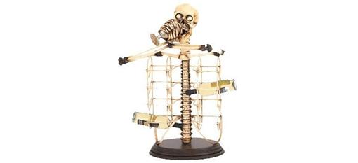 The Skeleton Wine Bottle Holder photo