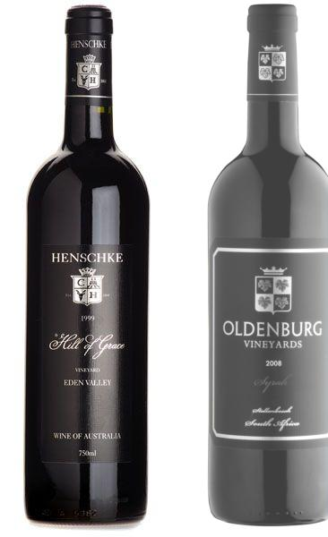 Oldenburg (left) and Henschke (right), terroir twins